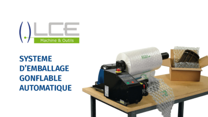 emballage gonflable automatique