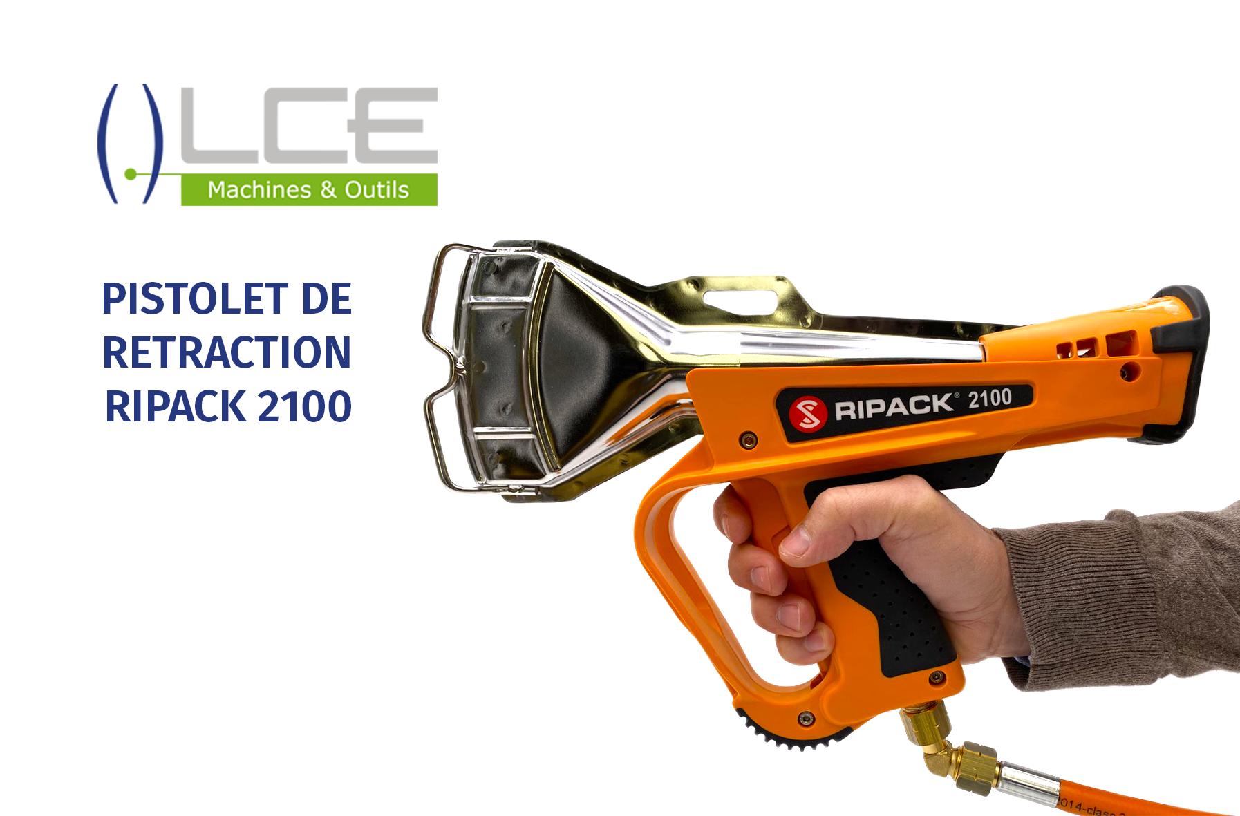 Pistolet de rétraction RIPACK 2100