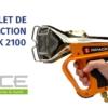 RIPACK 2100 - pistolet de rétraction pour emballage
