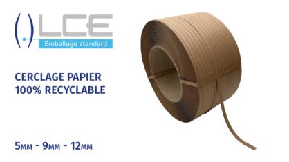 Cerclage papier par LCEmballage